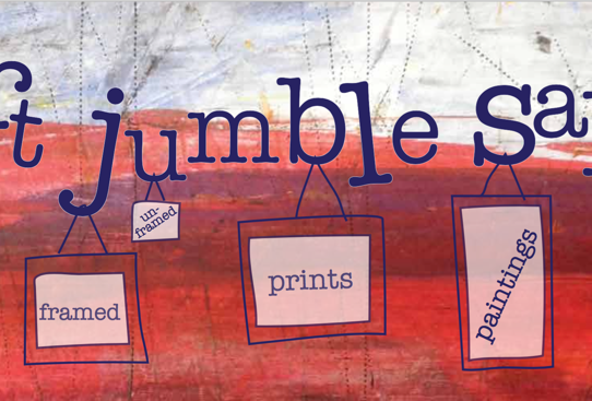 Pitchblue Art Jumble Sale